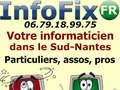 DEPANNAGE-PC : InfoFix Rezé les Nantes - Dépannage informatique